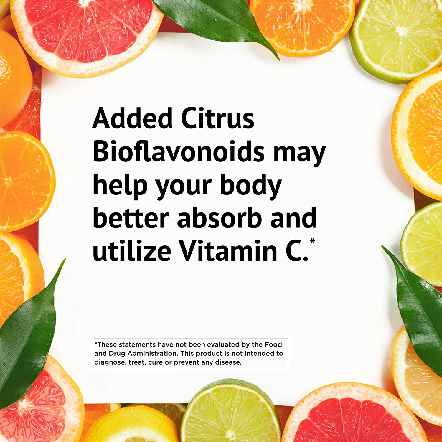 American Health Ester-C with Citrus Bioflavonoids Capsules - Gentle On Stomach, Non-Acidic Vitamin C - 500 mg, 120 Count, 60 Servings: Health & Personal Care