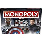 Monopoly: Marvel Studios The Falcon and The Winter Soldier Edition Board Game for Marvel Fans, Game for 2-6 Players for Ages