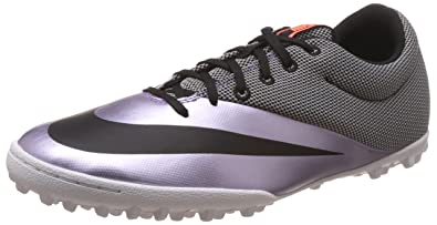 premium selection c71e7 62dba Nike MercurialX Pro TF, Chaussures de Football Homme, Gris Noir (Urban Lilac