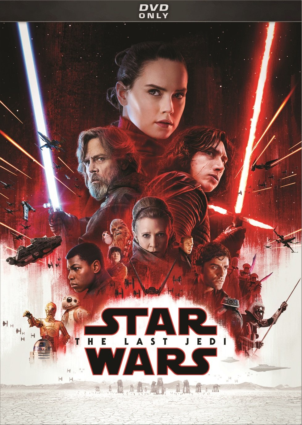 DVD : Star Wars: Episode Viii: The Last Jedi (Dolby, AC-3, Subtitled, Dubbed)