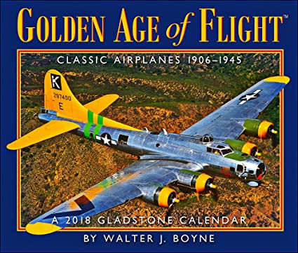 Amazon.com : 2018 Golden Age of Flight Desk Calendar : Office Products
