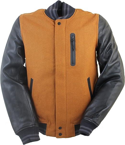 NIKE NSW DESTROYER Jacket Damen Leder Jacke Collegejacke