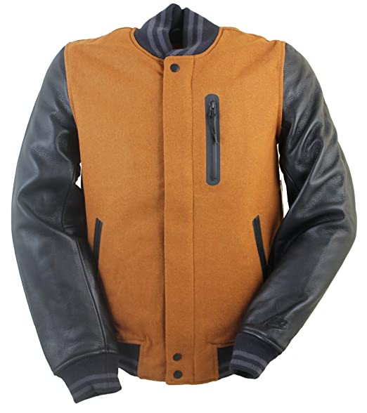 super popular 94729 d8413 NIKE Destroyer Mens College Jacket Brown 545942 243, Size S  Amazon.co.uk   Clothing