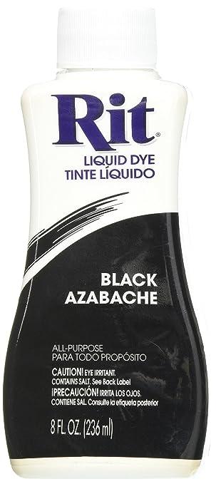 Amazon.com: Rit Dye Liquid Fabric Dye, 8-Ounce, Black