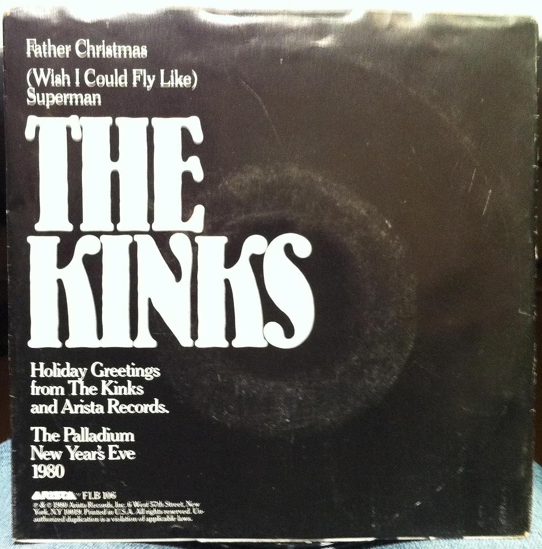THE KINKS FATHER CHRISTMAS / SUPERMAN 45 rpm single - Amazon.com Music