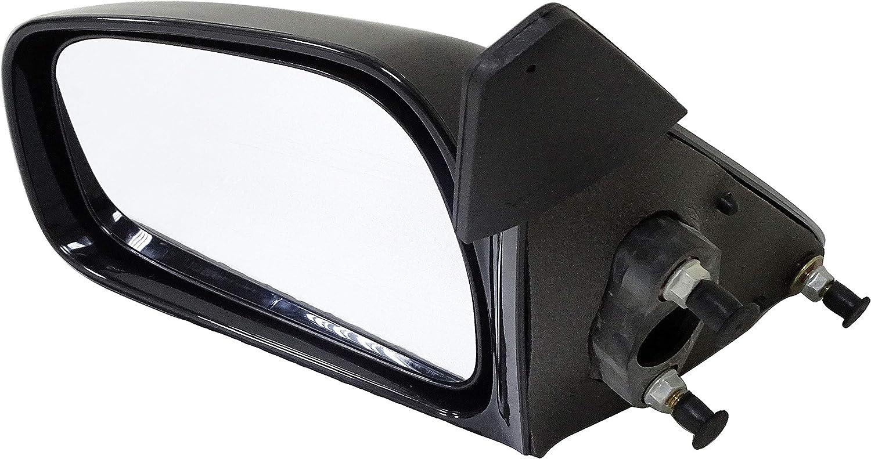 Black Dorman 955-1236 Driver Side Manual Door Mirror for Select Toyota Models