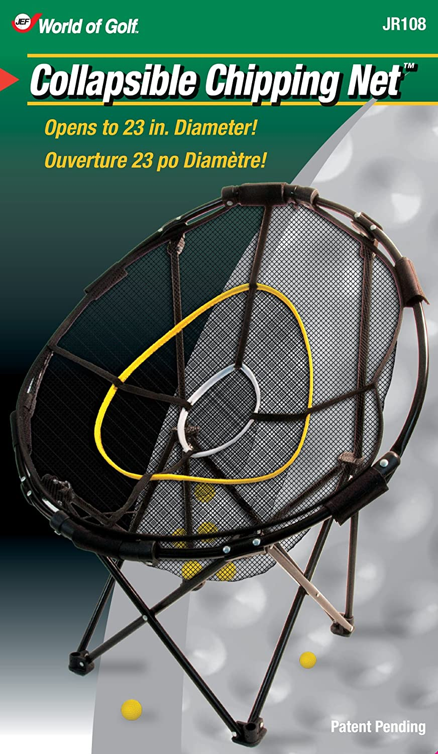 amazon com jef world of golf collapsible chipping net golf