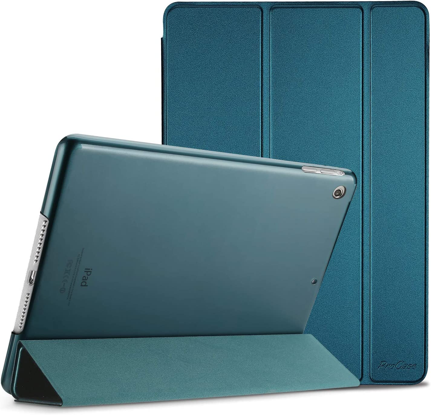 """ProCase iPad Mini 1 2 3 Case(Old Model A1432 A1490 1455), Slim Lightweight Stand Cover with Translucent Frosted Back Smart Case for 7.9"""" Apple iPad Mini, Mini 2, Mini 3, with Auto Sleep/Wake –Teal"""