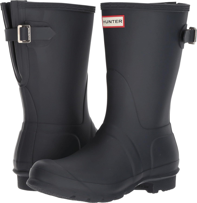 Hunter Women's Original Short Back Adjustable Rain Boots
