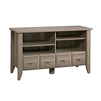 Amazon Com Sauder 418655 Shoal Creek Panel Tv Stand For Tv S Up To