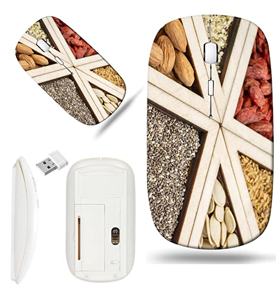 Review Luxlady Wireless Mouse White