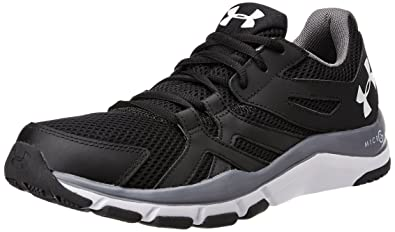under armour men s shoes. under armour men\u0027s strive 6 , black/graphite/white, 10 d(m men s shoes