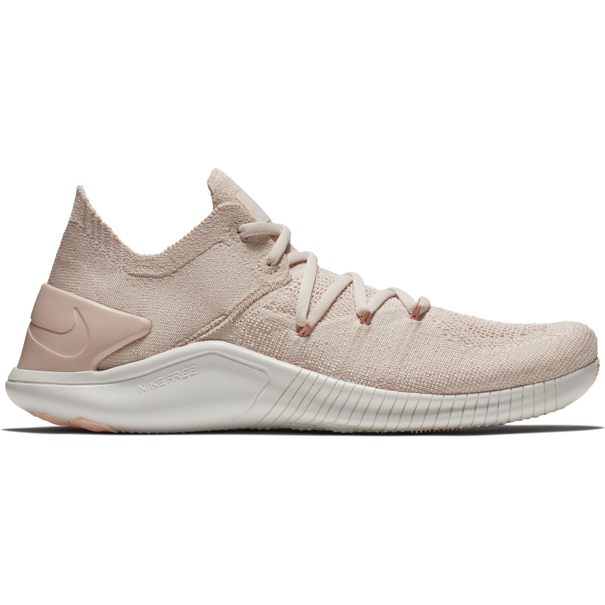 ce295514db4a3 Galleon - NIKE Women s Free TR Flyknit 3 Particle Beige Particle  Beige-Phantom 11.0