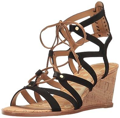 Dolce Vita Lynnie Ghillie Lace Wedge Sandal (Women's)