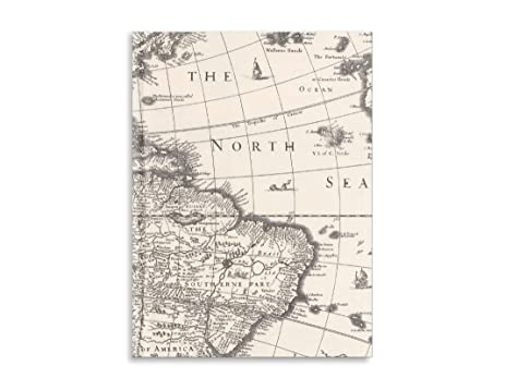 Amazoncom Pierre Belvedere Large Notebook World Map 7711120