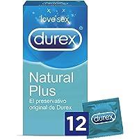 Durex Preservativos Originales Naturales Natural Plus - 12