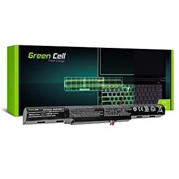 Green Cell® Standard Serie AS16A5K Batería para Acer Aspire E 15 E15 E5-575 E5-575G E 17 E17 E5-774 E5-774G Ordenador (4 Celdas 2200mAh 14.6V Negro)