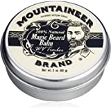 Magic Beard Balm by Mountaineer Band: All Natural Beard Conditioning Balm (WV Timber)