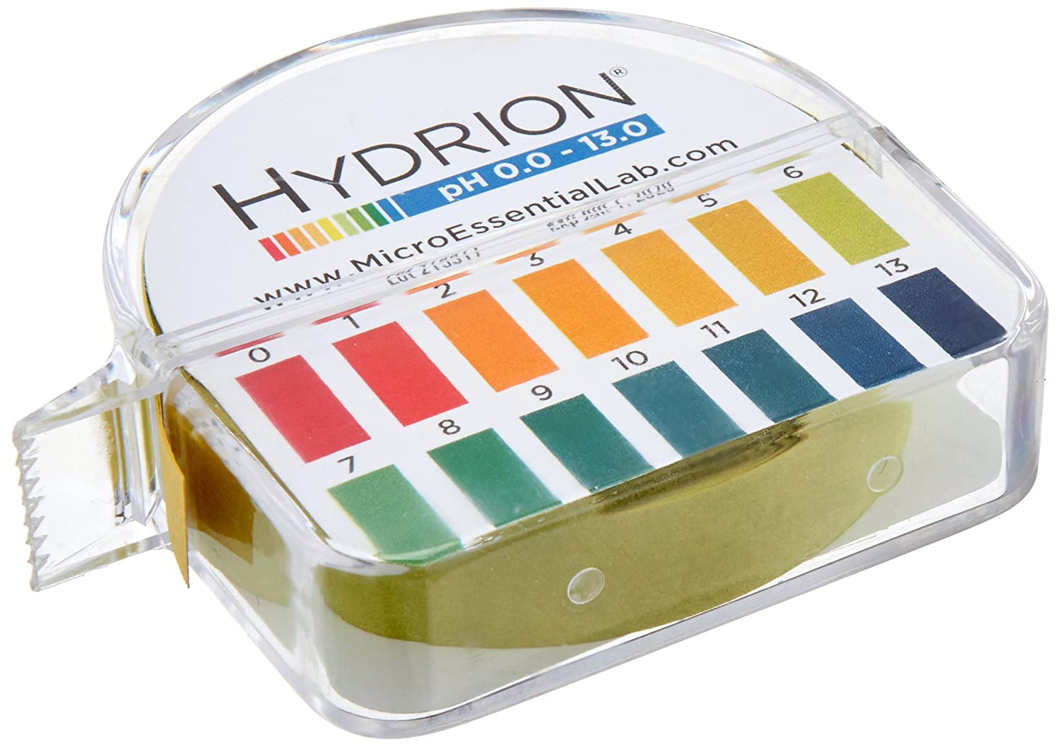 pHydrion 0 to 13 pH Jumbo pH Papers, Range 0 to 13, 50 Ft/Roll MICRO ESSENTIAL LABORATORY 5920024