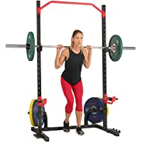Sunny Health & Fitness Unisex Adult SF-XF9931 Power Zone Squat Stand - Black, One Size