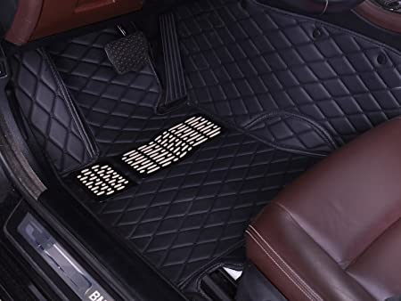 Nylon Carpet Black Coverking Custom Fit Front and Rear Floor Mats for Select Mercedes-Benz S-Class Models CFMBX1MD9240