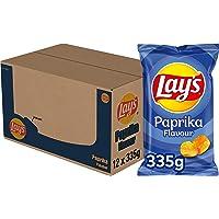 Lay's Chips Paprika, Doos 12 stuks x 335 g