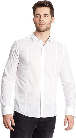 Collezione Camisa Hombre Blanco S: Amazon.es: Ropa