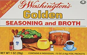 G Washington's Seasoning and Broth, Golden, 1 Ounce