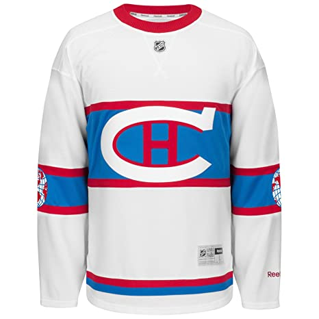c3950f219 Montreal Canadiens 2016 NHL Winter Classic Premier Replica Jersey - Size  X-Large  Amazon.ca  Clothing   Accessories