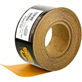"""Dura-Gold - Premium - 400 Grit Gold - Longboard Continuous Roll 20 Yards Long by 2-3/4"""" Wide PSA Self Adhesive…"""