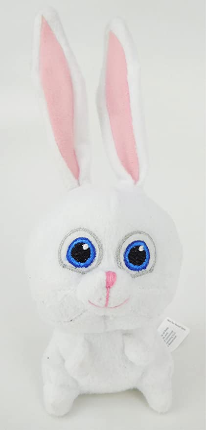 12cm Secret Life Of Pets Soft Toy - Snowball The Rabbit