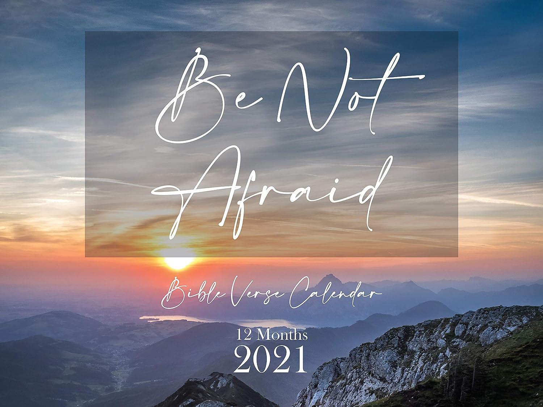 Be Not Afraid Bible Verse Wall Calendar 2021