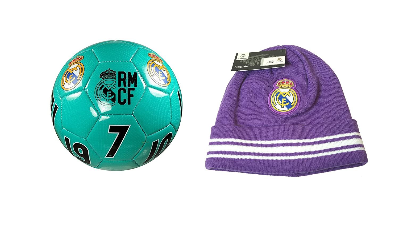 Real Madrid C.F.. Pelota de Fútbol con Licencia Oficial Tamaño 4 y ...