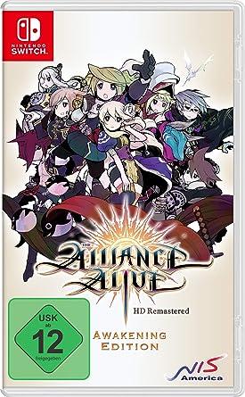 NIS America The Alliance Alive HD Remastered - Awakening Edition ...