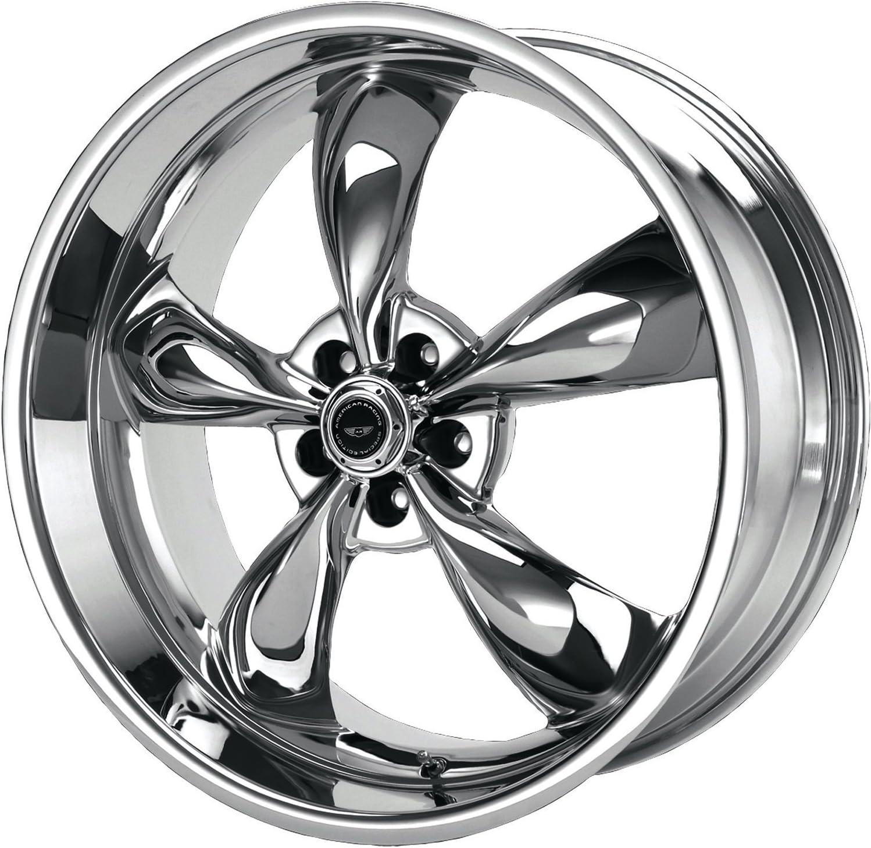 17x7//5x4.5 American Racing Torq Thrust M Wheel with Chrome Finish