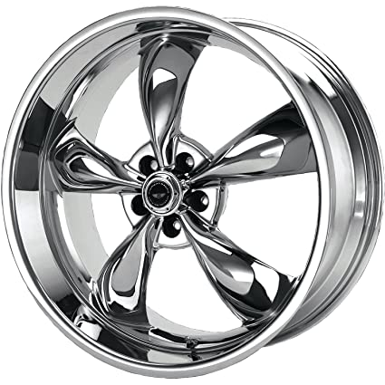 Amazoncom American Racing Torq Thrust M Ar605 Chrome Wheel 17x8