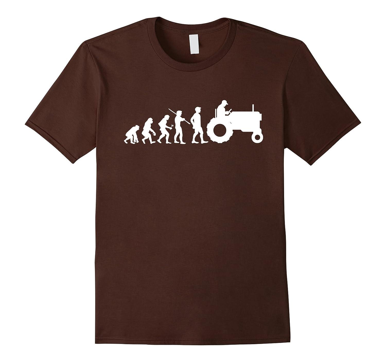 59eec51c58 Evolution Farmer T-shirt Funny Farming Farm Tractor Gift-RT – Rateeshirt