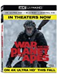 War for the Planet of the Apes (4K UHD + BD + Digital HD) [Blu-ray]