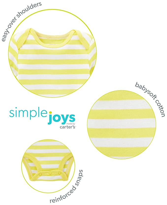 Amazon.com: Simple Joys por Carters juego de chaqueta ...