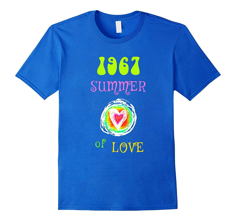 1967 Summer of Love Hippie Heart T-shirt-CD