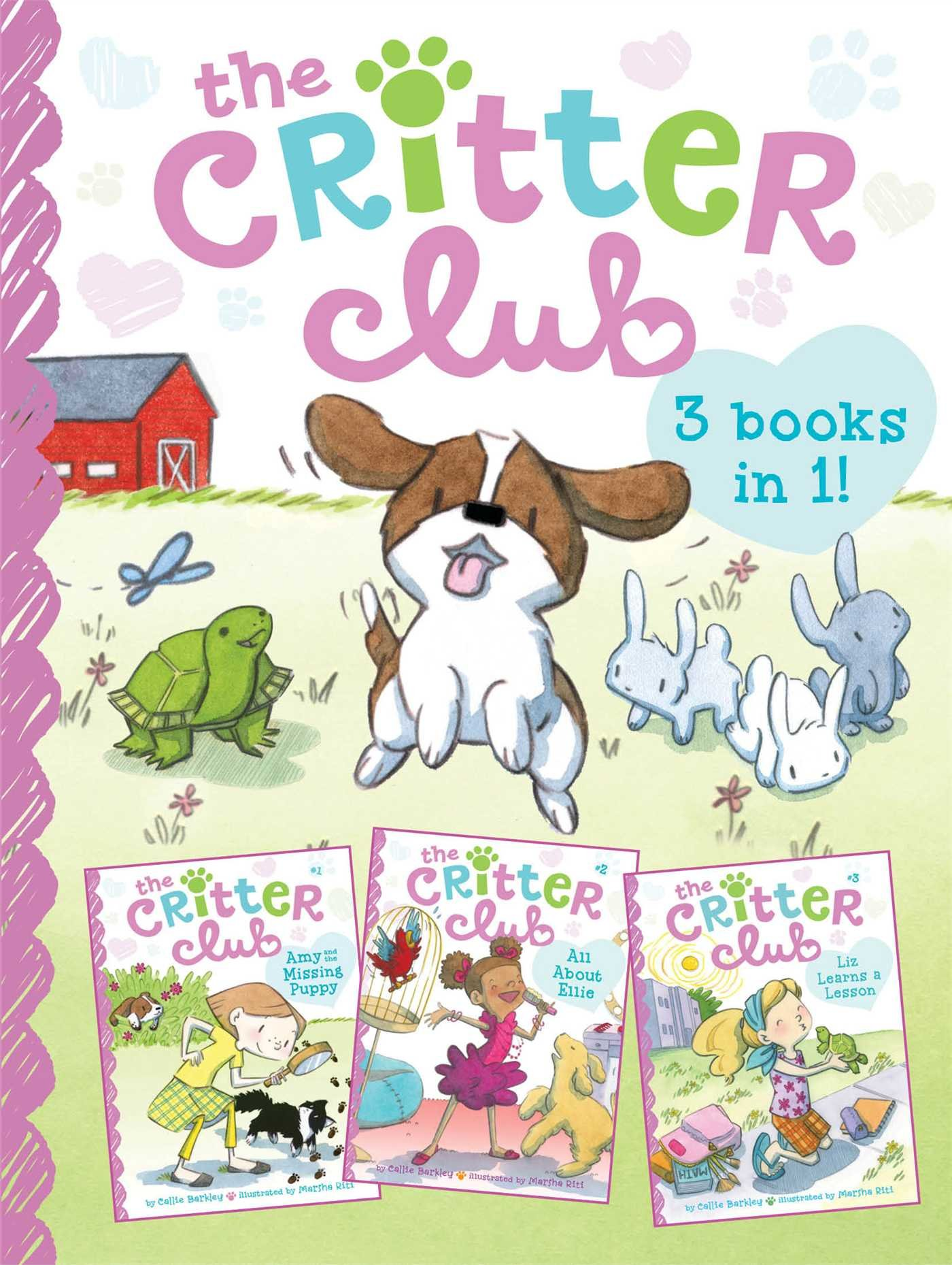 Download The Critter Club: Amy and the Missing Puppy; All About Ellie; Liz Learns a Lesson PDF
