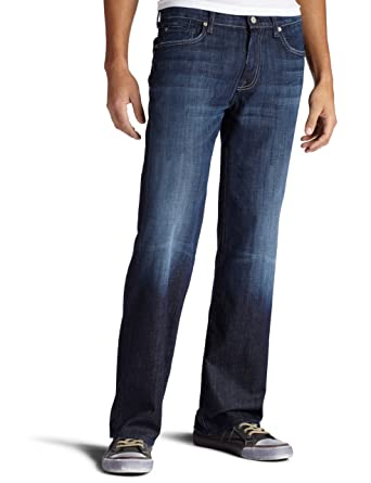 Amazon.com: 7 For All Mankind Men's Austyn Relaxed Straight-Leg ...