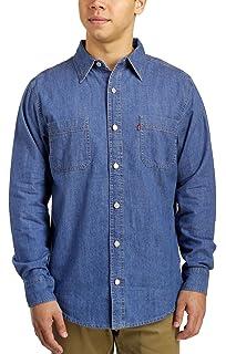 eedc17d0c28 Levi s Men s Barry Classic Denim Shirt - Black at Amazon Men s ...
