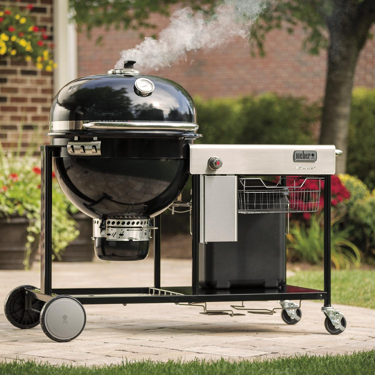 weber summit charcoal gril patio lawn garden