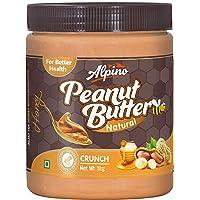 Alpino Natural Honey Peanut Butter Crunch 1kg (Buy 1, Get 1 Free)