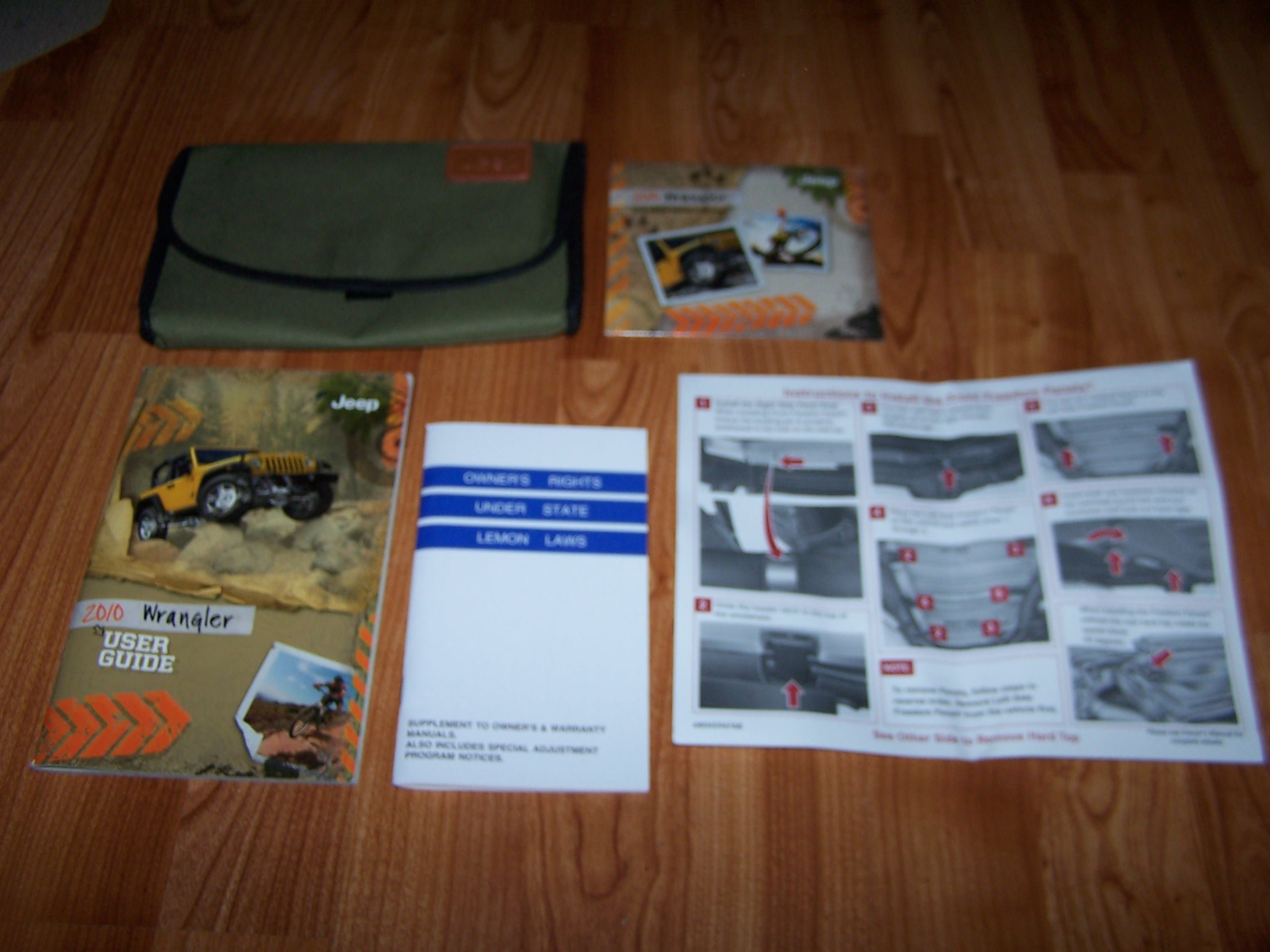 2010 jeep wrangler owners manual amazon books fandeluxe Images