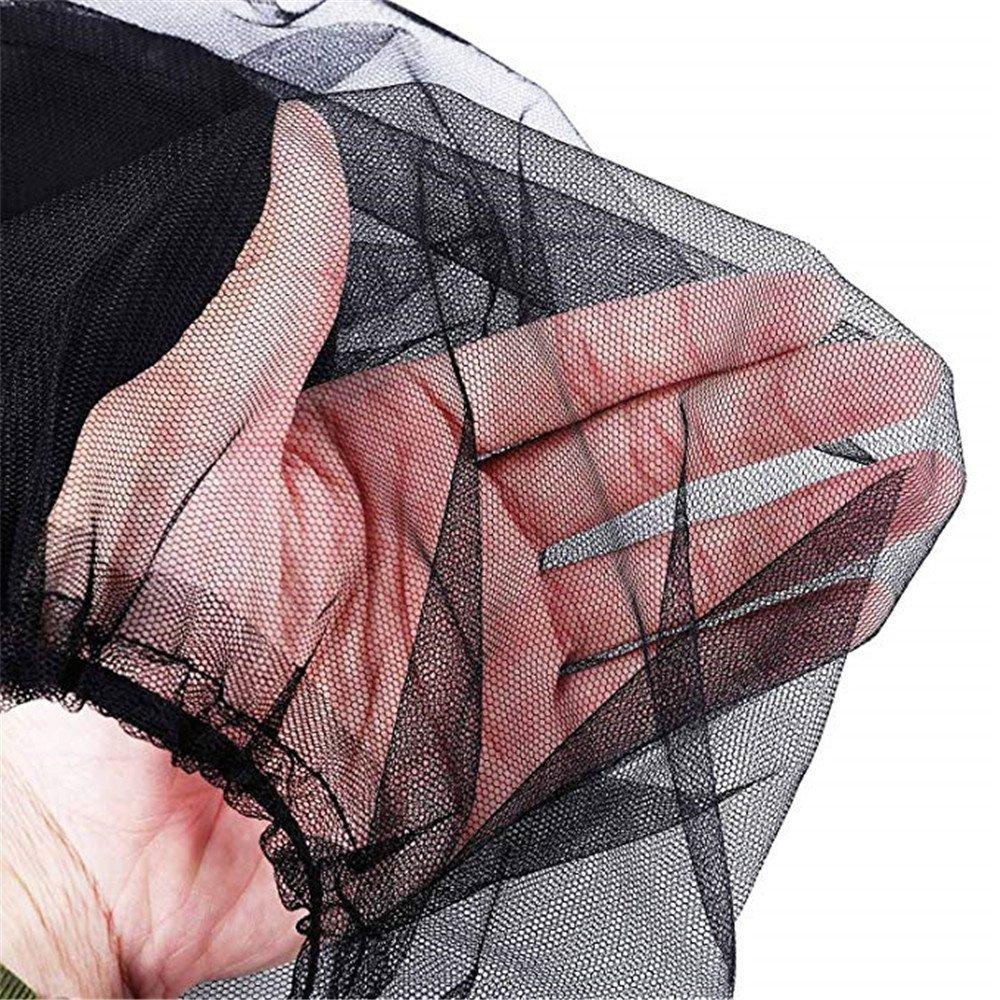 Weicher M/ückenschutz f/ür Outdoor Liebhaber Insektenschutz M/ückennetz MUXItrade 1 St/ück Kopfnetz Gesicht Mesh Kopf Abdeckung,Moskito Kopfnetz