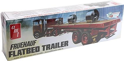 AMT Fruehauf Flatbed Trailer 1:25 Scale Decals
