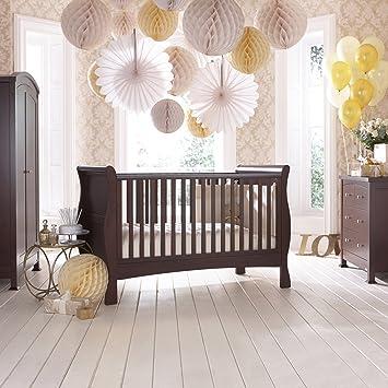 izziwotnot bailey 4 mobel kinderzimmer set in mahagoni inklusive kinderbett bett unter schublade babybett