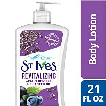 Amazon.com: St. Ives Revitalizing Body Lotion, Acai ...
